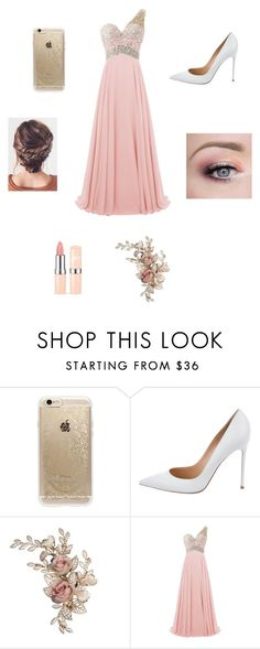 """""""Prom!!"""" by kittyfashionqueen ❤ liked on Polyvore featuring Rifle Paper Co and Gianvito Rossi"""