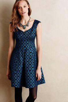 Nanette Lepore Brocade Ciel Dress #anthrofave