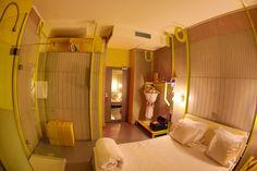 Sublimer votre chambre de manière contemporaine grâce aux panneaux muraux Panbeton® Fragmentation; design by Matali Crasset / Concrete LCDA / crédit photo Lionel Bouffier