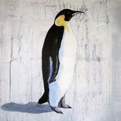 Single Emperor Penguin Print   DegreeArt.com The Original Online Art Gallery