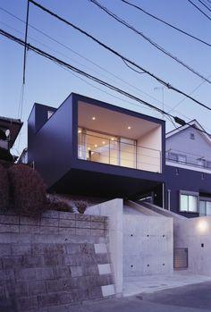 TEPE by APOLLO Architects & Associates (Higashikurume city, Tokio, Japón) #architecture