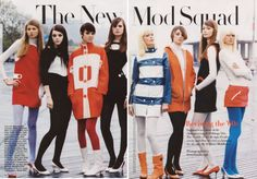 Mod revival fashion looks just like the real thing!