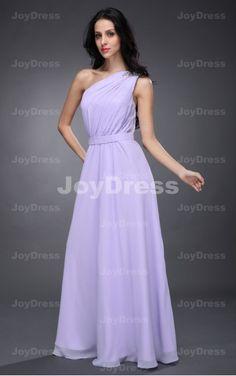 discount wedding dresses onsale   Sash A-line One Shoulder Floor-length Dress  £59.00