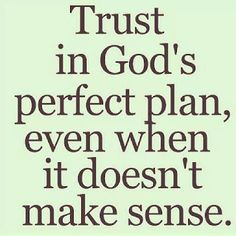 Grow me in trusting You more O Lord!