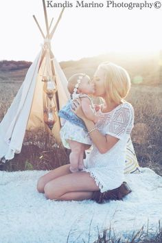 BOHO styled family Photoshoot - Kandis Marino photography
