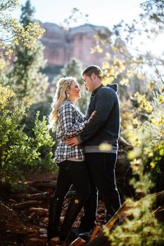 Sedona Engagement Photos in the Red Rocks || Jane in the Woods || Sedona Wedding Photographer