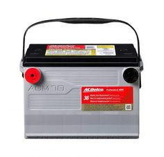 ACDelco Professional Automotive AGM Batteries have longer life expectancy in traditional vehicle applications, due to a maintained pressure on the plates which significantly reduces the amount of active mass lost from the grid. Tractor Battery, Battery Hacks, Golf Cart Batteries, Lead Acid Battery, Diy Car, Free, Ebay, Samsung, Laptop