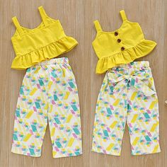 US Toddler Infant Kids Baby Girl Top T-shirtLong Pants Outfits Set Clothes Set #fashion #clothing #shoes #accessories #babytoddlerclothing #girlsclothingnewborn5t (ebay link)