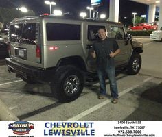 Congratulations to Ricardo Amador on your new car purchase from David Rumple at Huffines Chevrolet Lewisville! #NewCar