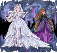 Disney Princess Pictures, Disney Princess Art, Disney Princess Dresses, Disney Fan Art, Disney Pictures, Disney Style, Disney Love, Sailor Princess, Frozen Disney