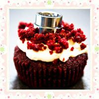 Red Velvet Cupcakes with Sugar-Free Cream Cheese Frosting