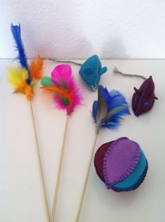 1000 images about for the pets on pinterest cat toys for Diy cat teaser wand