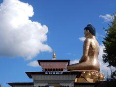 Biggest Buddha in the world.  Bhutan.