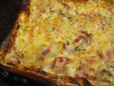 Lembram-se da panqueca de tabuleira? Aqui fica a sugestão com novos ingredientes by a galinha maria, via Flickr
