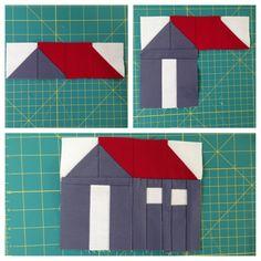 tiny house quilt block