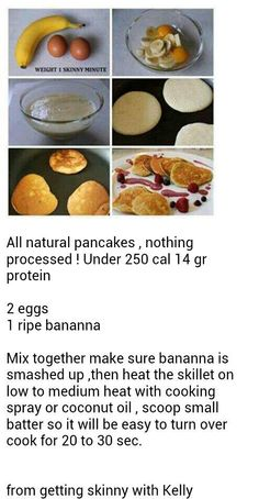 1000+ images about Clean Eating--Pancakes & Waffles on Pinterest ...