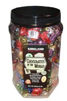 46 pieces $19 amazon 2 pounds Chocolates of the World Premium Quality Chocolate Holiday Assortment Chocolates of the World http://www.amazon.com/dp/B00NB8T1J4/ref=cm_sw_r_pi_dp_t-Puub1V28N8W