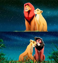 lion king 1 and 2 eeerrrmmmaaaggeeerrrddd so cute