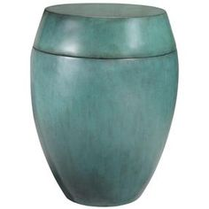 """""""Sidney Storage Drum Table 23""""""""Hx18""""""""D Turquois"""" by Home Decorators Collection #HomeDecorators"""