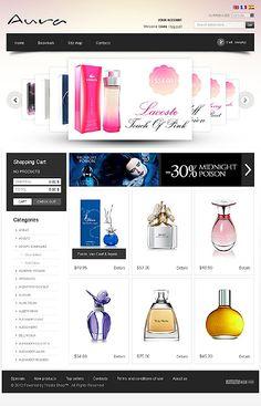 Perfume Online PrestaShop Themes by Delta