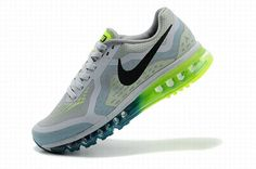 sale retailer 9c374 e18bf Demping Hardloopschoenen Nike Air Max 2014 Heren Antraciet Groen-Blauw Neon  Groen Zwart,Latest trainers arrive - order from us with good price.
