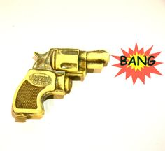 PIGMY AQUAMATIC WATERPISTOL Water Gun Pistol by lavibohemme, $15.00