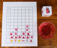 Firefighter Graphing Game by Deb Chitwood, via Flickr