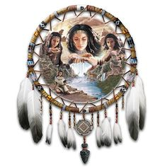 Native American-Inspired Dreamcatcher Wall Decor Art: Dreams Of The Sacred Elements by The Bradford Exchange Bradford Exchange http://www.amazon.com/dp/B002WKR1YO/ref=cm_sw_r_pi_dp_8vRdwb0NYDK5F