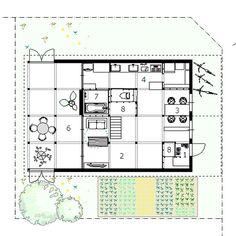 JP, Shinkawa, house. Architect Yoshichika Takagi, 2015.