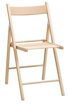 Krzesło składane JUVRE buk | JYSK
