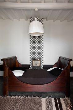 #interior #woodensleighbed