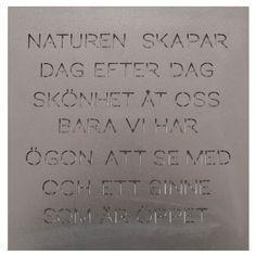 """Odla Trädgårdspoesi """"Naturen"""", Plåt, Ernst Kirchsteiger"""