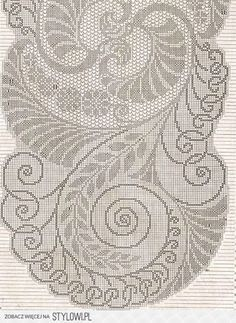 Knit And Crochet Now, Crochet Cross, Crochet Home, Crochet Snowflake Pattern, Crochet Snowflakes, Crochet Patterns, Crochet Tablecloth, Crochet Doilies, Hand Embroidery Stitches