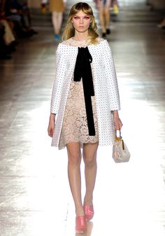 Miu Miu. LOVE the jacket.