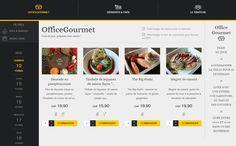 Menu OfficeGourmet du 12/02/2016 - Votre menu traiteur du vendredi 12 février 2016 livré au bureau à Genève, Lausanne et canton de Vaud
