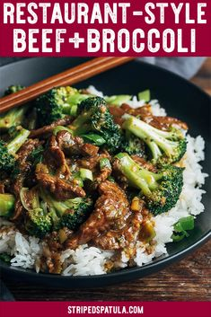 Learn how to recreate a takeout classic at home with this crazy good Beef and Broccoli stir fry. Easy to make, with only 15 minutes of cooking time after prep! #takeoutfakeout #chinesefood #beefrecipes