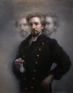 Love this portrait by an artist I just found...Maria Kreyn