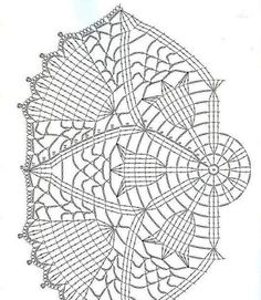 Ideas For Crochet Patrones Ganchillo - Diy Crafts - DIY & Crafts Free Crochet Doily Patterns, Crochet Doily Diagram, Crochet Circles, Crochet Art, Crochet Squares, Thread Crochet, Crochet Motif, Crochet Designs, Crochet Stitches