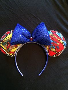 Minnie mouse ears by SparkledCrown on Etsy