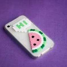 Perler Beads Phone Cover