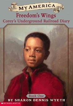 As part of the relaunch of the My America series, Sharon Dennis Wyeth introduces readers to Corey Birdsong, a slave boy in antebellum Kentucky. This is the story of his family's attempt to escape. Cor
