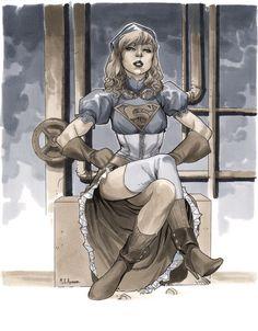 Steampunk Supergirl - Wizard World Chicago 2012 by ~MahmudAsrar on deviantART