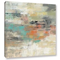 Silvia Vassileva's Gentle Gaze , Gallery Wrapped Canvas is a gorgeous abstract reproduction featuring a beautiful of a Gentle gaze of a beach with the sand and pretty blue water and the suns reflectio