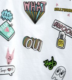 Patches T-shirt-GIRL | 4-14 years-NEW IN | ZARA United Kingdom
