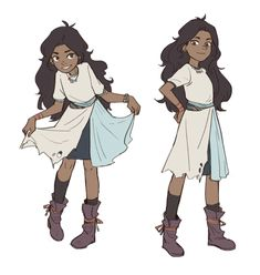 Main characters reference. For after the town transformation, I like the appearance, needs to be 13/14. Maybe the healer of the group, parents could be pressuring her to go into medicine. Kinda like the Steven Universe Connie of the group?