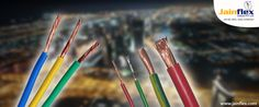 Jainflex Cables is a market leading Cable Manufacturing company in India that serves industries best cables and wires for all kinds of residential and commercial sectors.  #Cable_Manufacturers_in_India