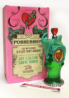 BioShock Infinite Signed Possession Vigor Bottle via the Irrational Games Store