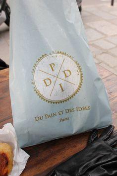 Du Pain Et Des Idees - Paris Paris France, Bakery Identity, Rustic Bread, Paris 2015, Branding, Bakery Design, Pastry Shop, Paris City, Love Charms