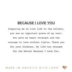 Because I Love You Iii, Gold Bangle