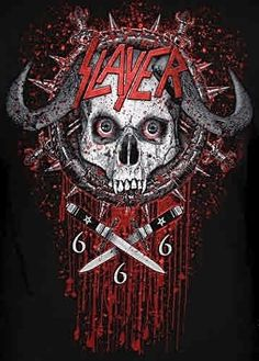 Slayer War Logo Thrash Metal Hard Rock T-shirt L 2xl 3xl Nwt ...